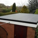 rubber roof service in Sacriston
