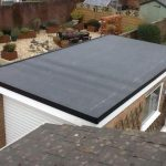 Rubber roofing service in Long Benton