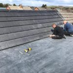 Burnhop Field rubber flat roofs