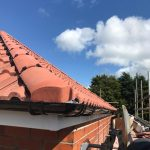 finished guttering Trimdon