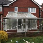 renovating conservatory roof in Burnhop Field