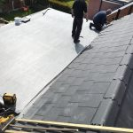 rubber roofing service by W.H Home Improvements