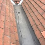 completed roof repair in Whitley Bay