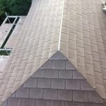 Felling tile roof