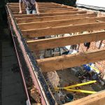 Garage roof installations in Long Benton