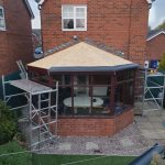 conservatory roof renovations in Willington