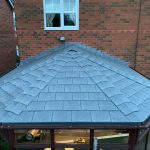 tiled conservatory roof in Burnhop Field