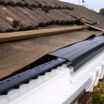 guttering service in Willington